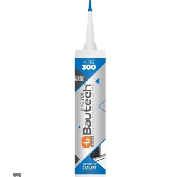 Yapıştırıcı & Tutkal - Bautech Silikonize Mastik 500 gr