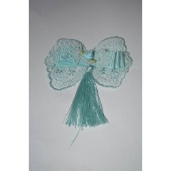 Mavi Fiyonk Güpür
