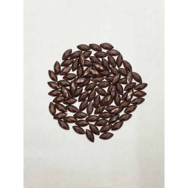 10 mm Kahverengi Desenli Arpa İnci