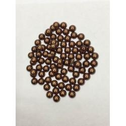 10 mm Kahverengi Yarım İnci