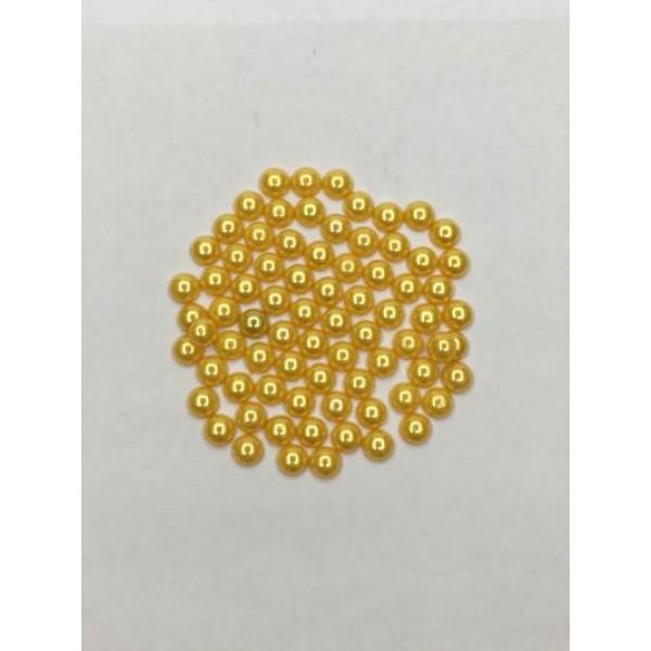 10 mm Sarı Yarım İnci