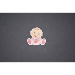 Bebek Kız Stiker