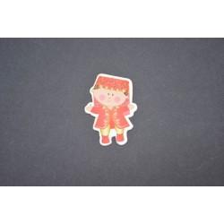 Kız Figürlü Stiker