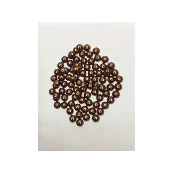 8 mm Kahverengi Yarım İnci