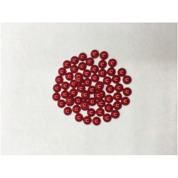 8 mm Kırmızı Yarım İnci
