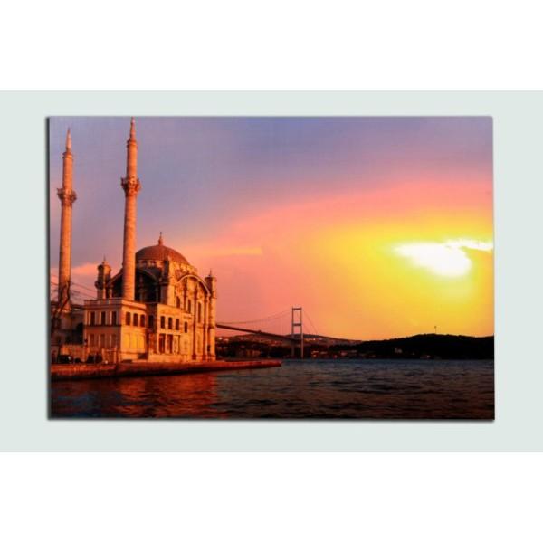 İstanbul Ortaköy Manzara Tablo