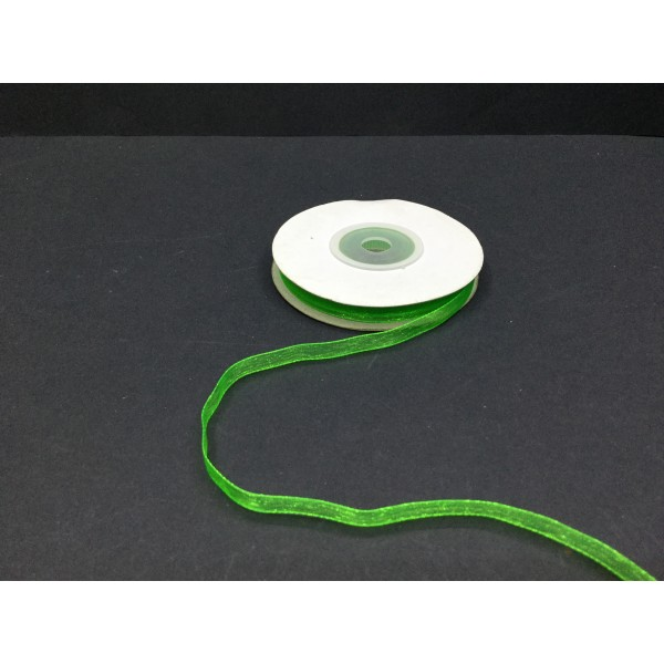 06 mm Yeşil Organze Kurdele