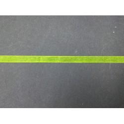 1 cm Açık Yeşil Sarı Organze Kurdele