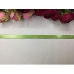 1 cm Açık Yeşil Saten Kurdela