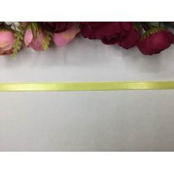 1 cm Fosforlu Sarı Saten Kurdela
