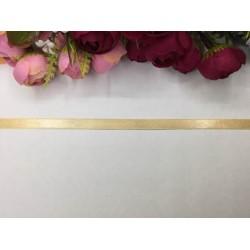 1 cm Kayısı Rengi Saten Kurdela