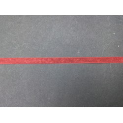 1 cm Kırmızı Organze Kurdele