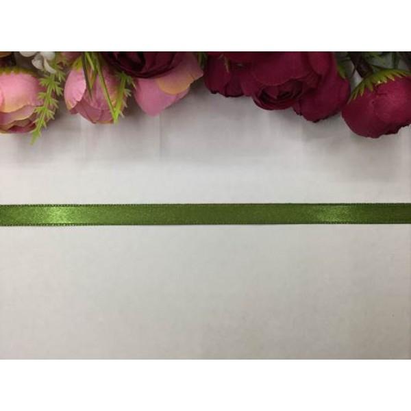 1 cm Koyu Yeşil Saten Kurdela