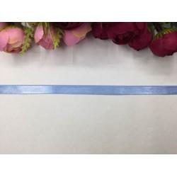 1 cm Peygamber Çiçeği Mavisi Saten Kurdela