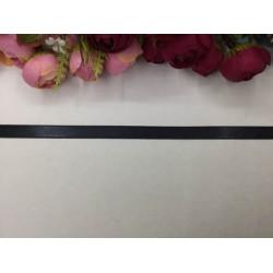 1 cm Siyah Saten Kurdela