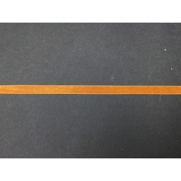 1 cm Turuncu Organze Kurdele