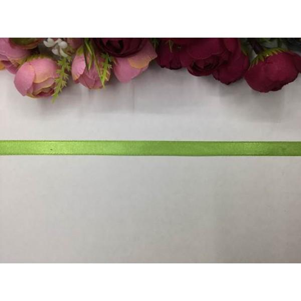 1 cm Yeşil Saten Kurdela