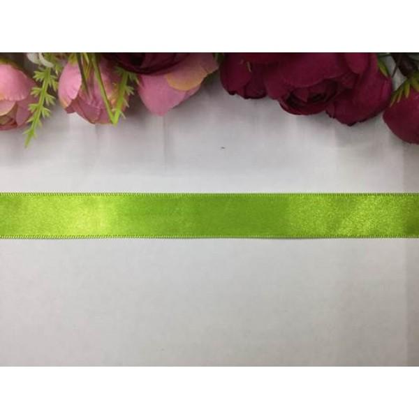 2 cm Fıstık Yeşili Saten Kurdela