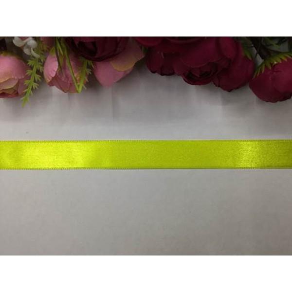 2 cm Fosforlu Sarı Saten Kurdela
