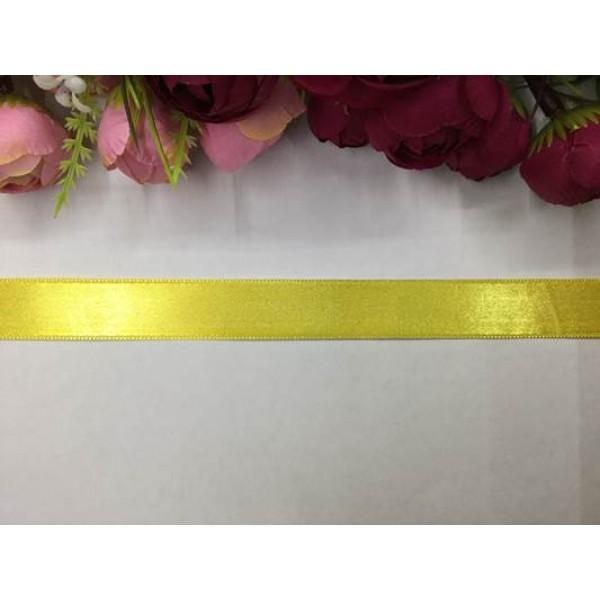 2 cm Mandalina Sarısı Saten Kurdela