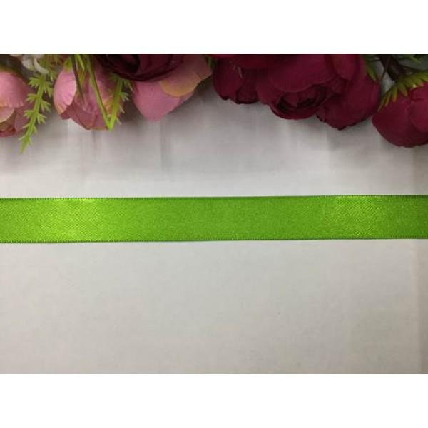 2 cm Yeşil Saten Kurdela