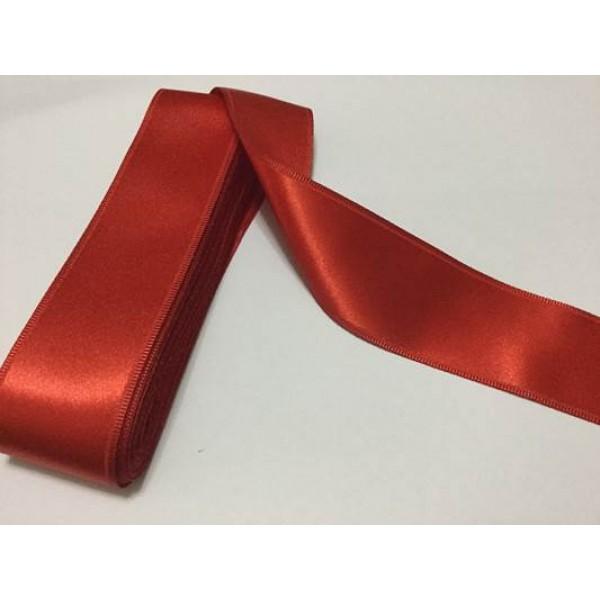 4 cm Kırmızı Saten Kurdela