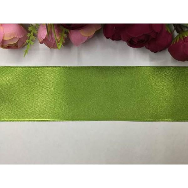 6 cm Yeşil Saten Kurdela