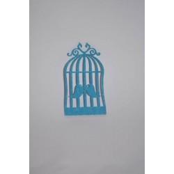 Mavi Keçe Kafes