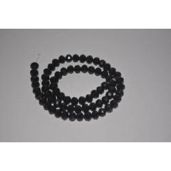 Siyah Kristal Cam Dizi