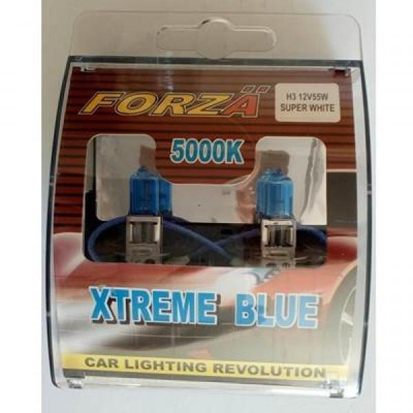 Forza H3 12V 55W Beyaz Işık 5000K XB12H3 Ampul
