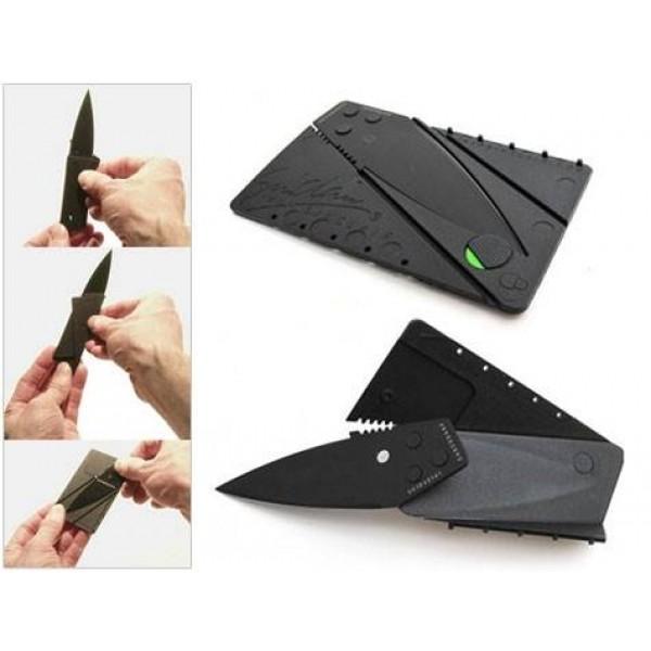 Kredi kartı şeklinde bıçak