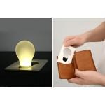 Kredi kartı şeklinde el cep feneri
