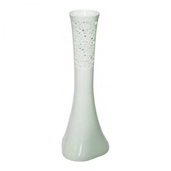 Fil Ayağı 40 Cm Dantel Vazo